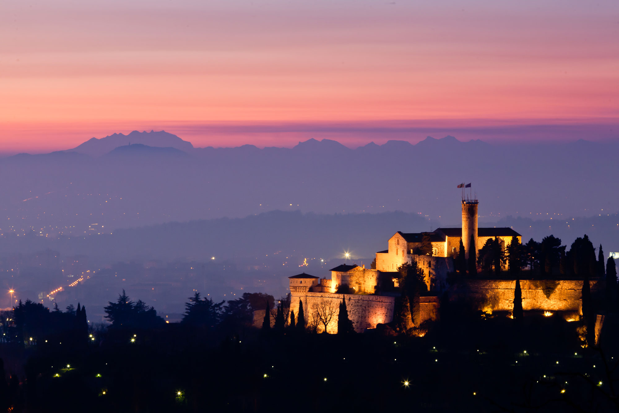 Castello by night